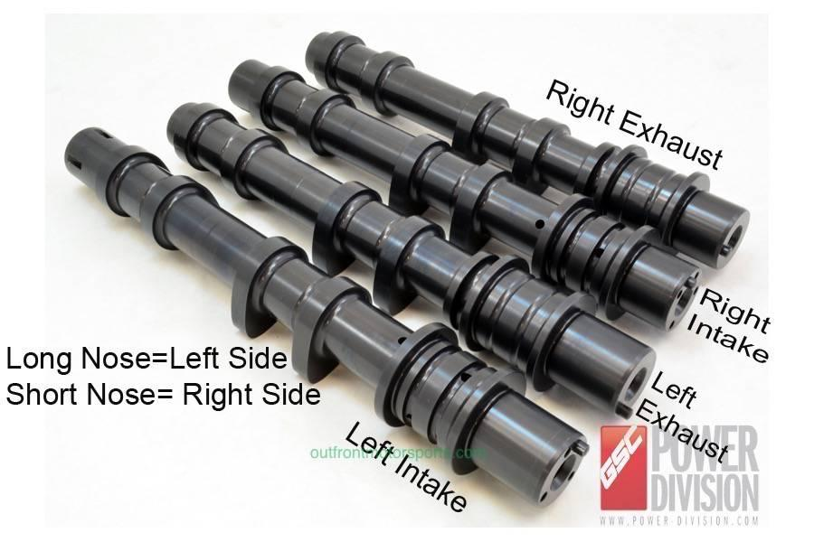 GSC Stage 2 EJ20 Billet Camshaft Set Without AVCS