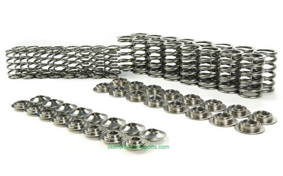 Supertech Dual Valve Springs W/ Titanium Retainers Kit 82#