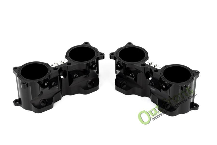 Aluminati Billet Dual Injector TGV Deletes for EJ Engines (Black)