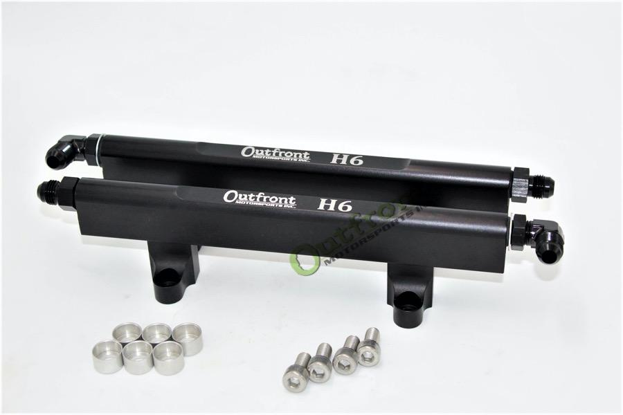 Outfront Motorsports H6 Fuel Rails -6