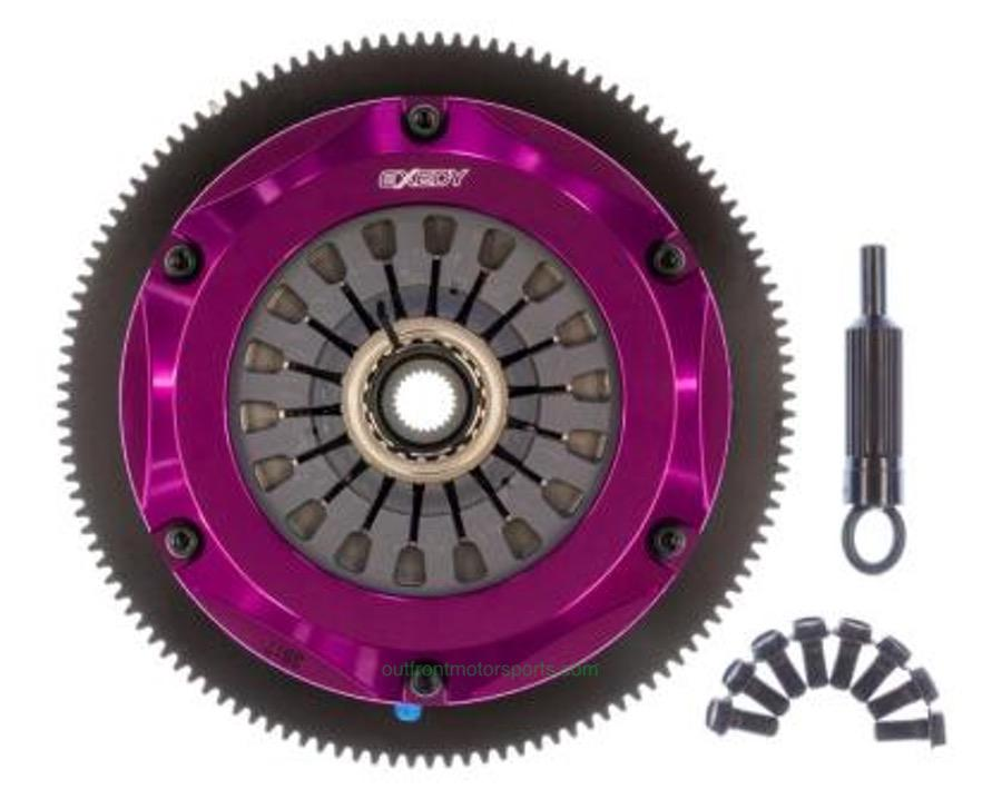 Exedy Stage 4 Twin Metallic Disc Clutch Kit 02-05 WRX
