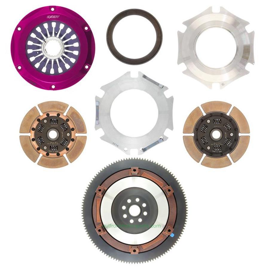 Exedy Stage 4 Twin Metallic Disc Clutch Kit STI 04-12