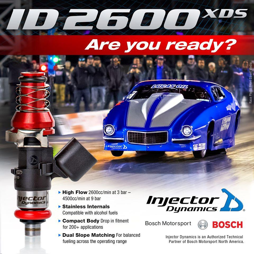 Injector Dynamics ID2600XDS Injectors WRX-16B Bottom Adaptors 11mm (Red) Adaptors (Set of 4)