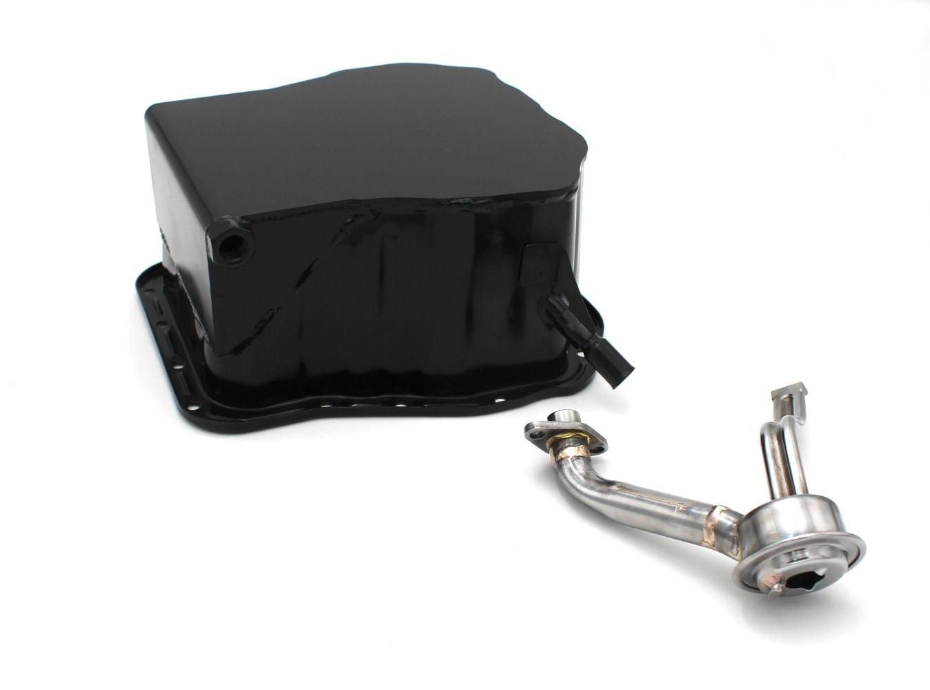 Outfront Motorsports Modified Shorted Mid Engine Oil Pan and Pickup (Non Turbo)