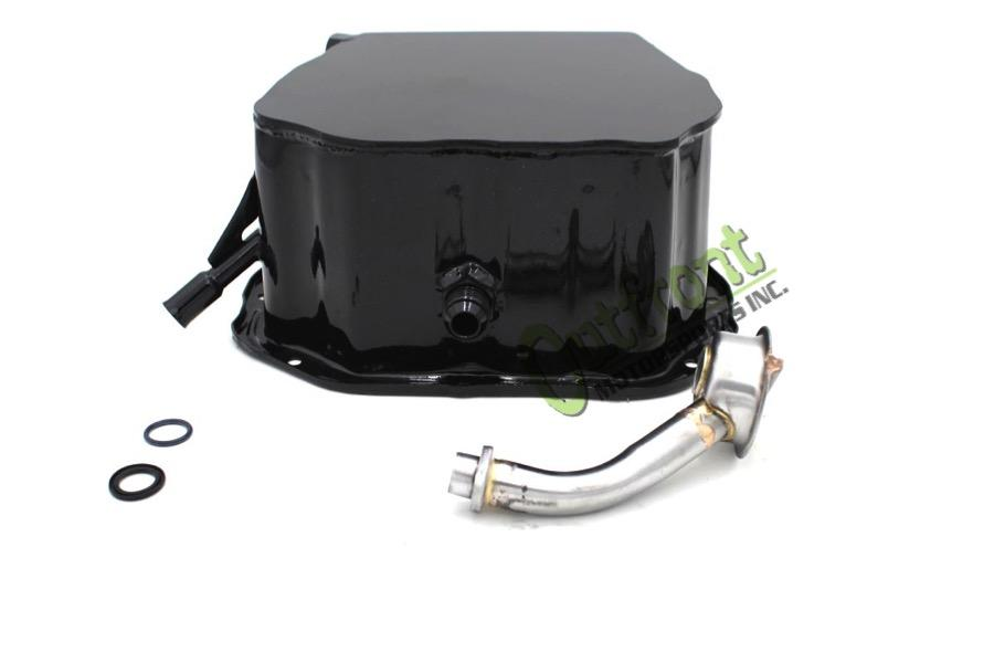 Outfront Motorsports Modified Shorted Rear Engine Oil Pan and Pickup (With Turbo Return Bung)